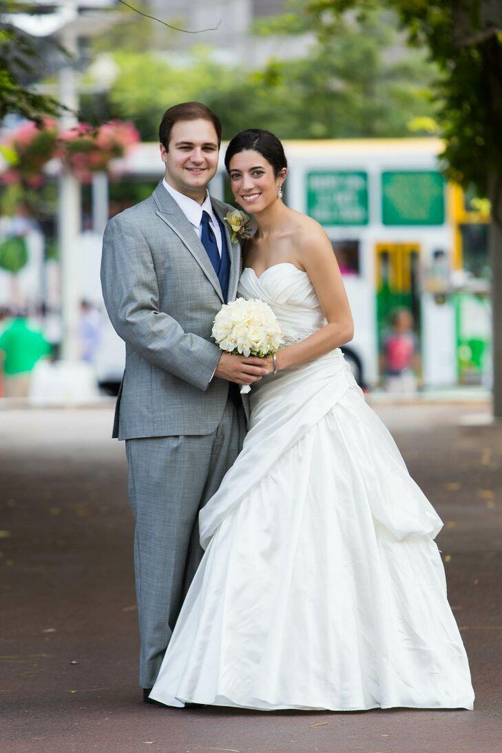 A Nautical Wedding at Boston Harbor Cruises in Boston, Massachusetts