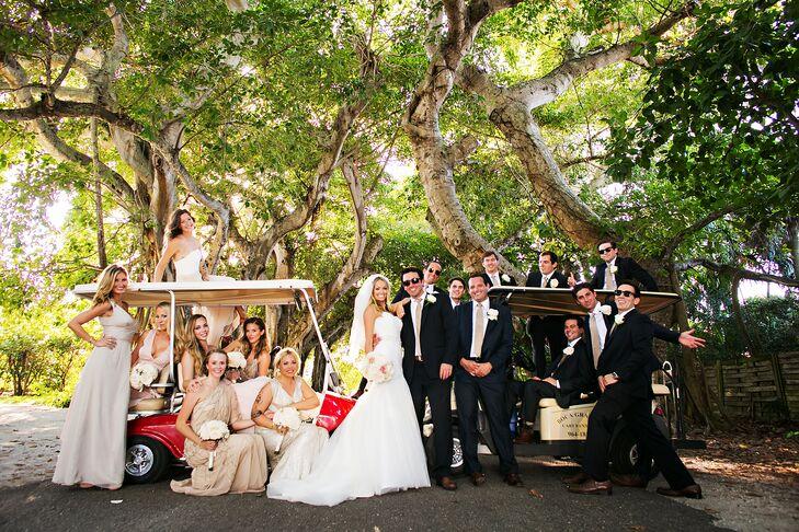 Bayan Street Golf Cart Wedding Party Photo on dinner dress, performance dress, scooter dress, boat dress, convertible dress, tank dress, tee dress, house dress, accessories dress,