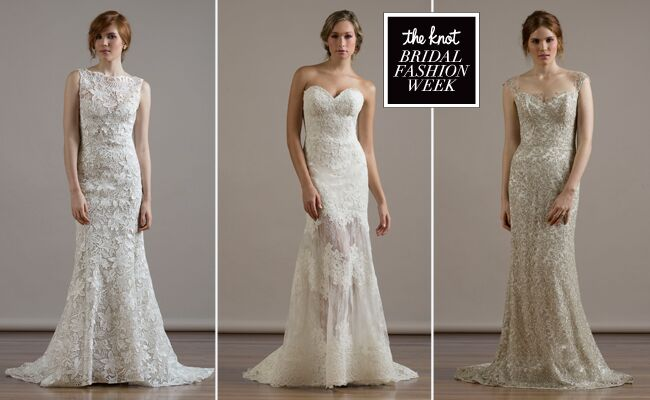 Liancarlo Wedding Dresses 2015 Incorporates Romantic, Re-Embroidered Lace for Fall