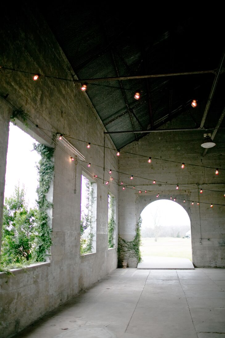 Olde Dobbin Station Wedding With String Lights