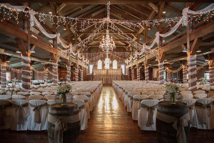 A Country Chic Wedding at Bessie's Barn in Centerville, Iowa