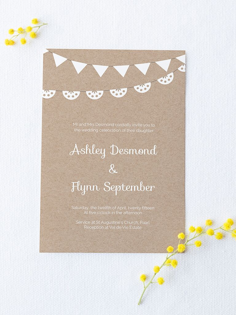 Free Wedding Invitation Printable