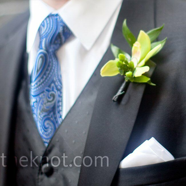 Cork Boutonniere: A Traditional Wedding In Chicago, IL