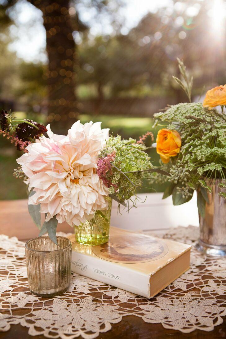 Vintage dahlia flower arrangement izmirmasajfo
