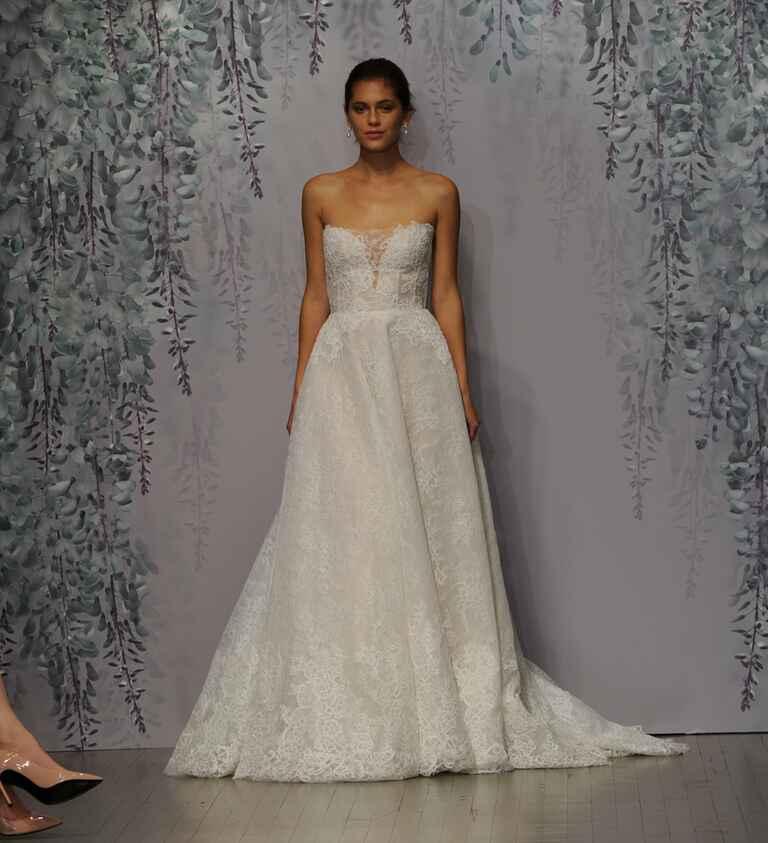 Monique Lhuillier Fall 2016 Collection: Wedding Dress Photos