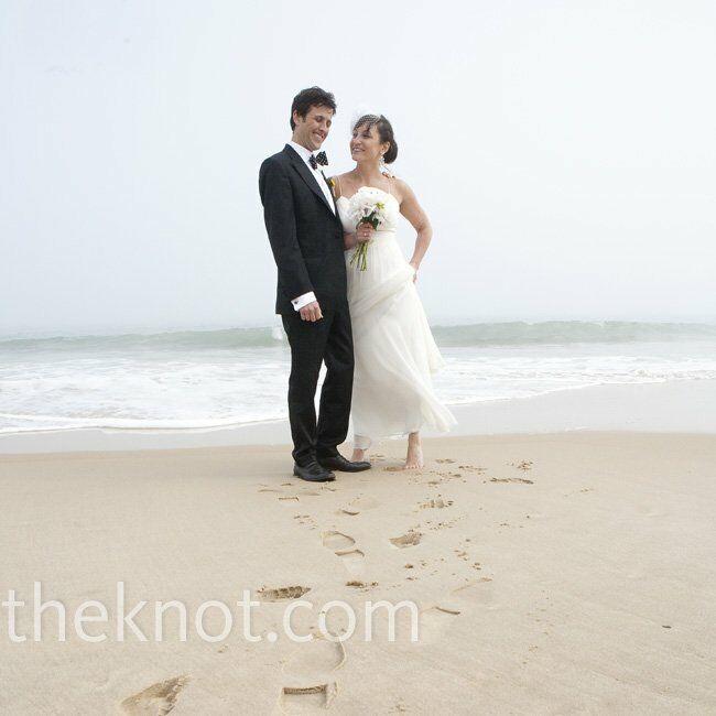 A Beach Wedding In Montauk, NY