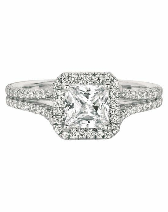 FlyerFit by Martin Flyer CM09SACQ-C-5.5PC Engagement Ring photo