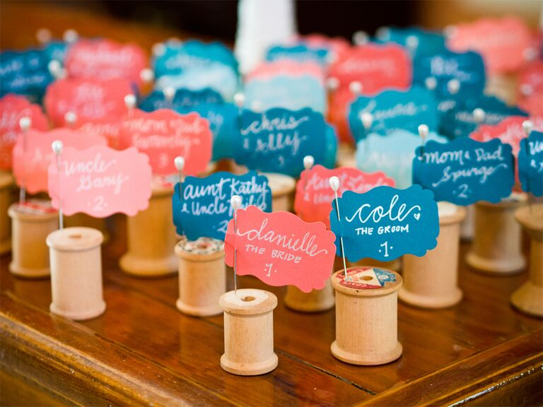 Superb Do It Yourself Escort Cards