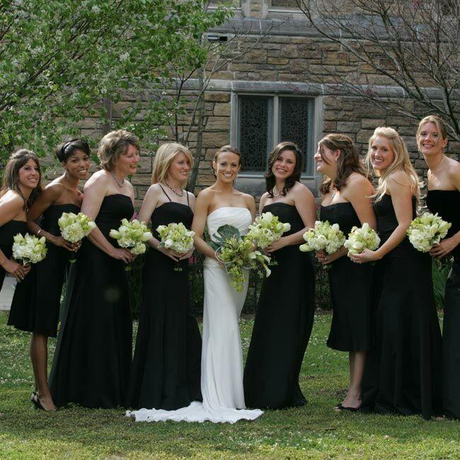 Cheap Wedding Dresses Wilmington Nc: The Bridesmaid Looks