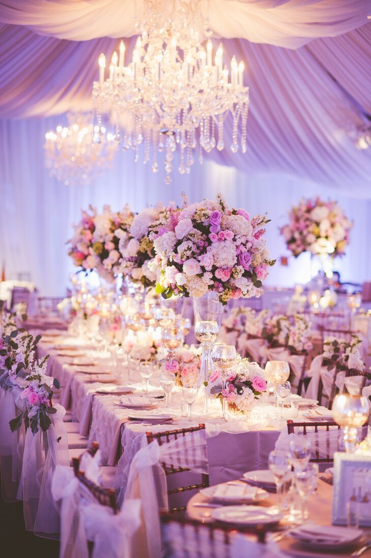 Classic, Formal Garden Party Tent Reception