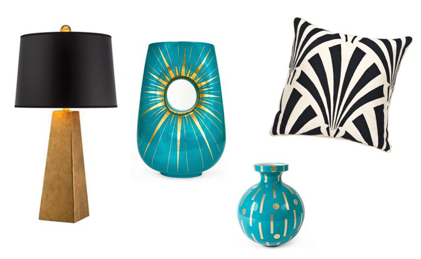 Real Art Design Group Inc : Stunning art deco home accessories from katie anderson