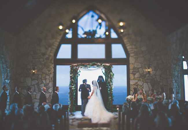 Church With A View | The Shultzes | The Knot Blog