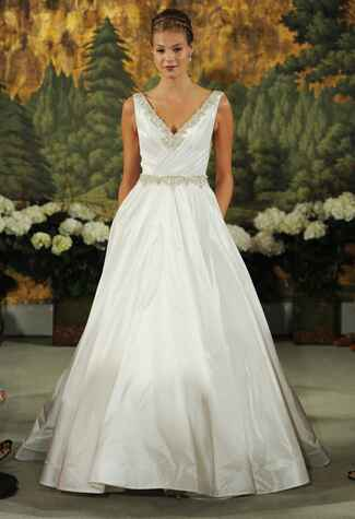 Anne Barge Spring 2015 wedding dress |<img class=