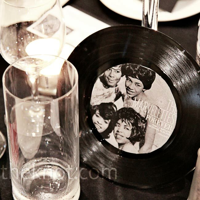 A laid back motown themed wedding for Vinyl record decoration ideas