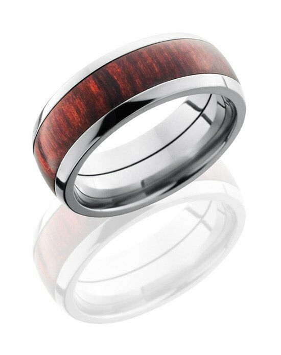 Lashbrook HW8D15/ROSEWOODBURGUNDY Wedding Ring photo
