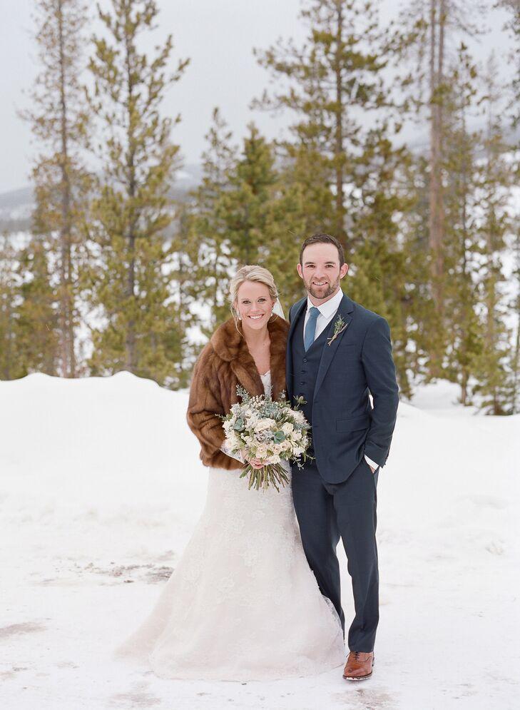 A Rustic Chic Winter Wedding At Devils Thumb Ranch In Tabernash Colorado