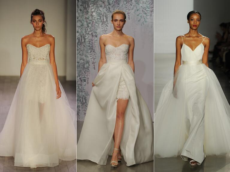 The Top Wedding Dress Trends From Fall 2016 Bridal Fashion Week
