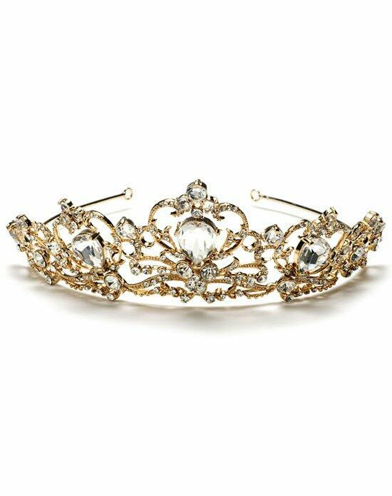 USABride Helena Gold Crown TI-749-G Wedding Tiaras photo