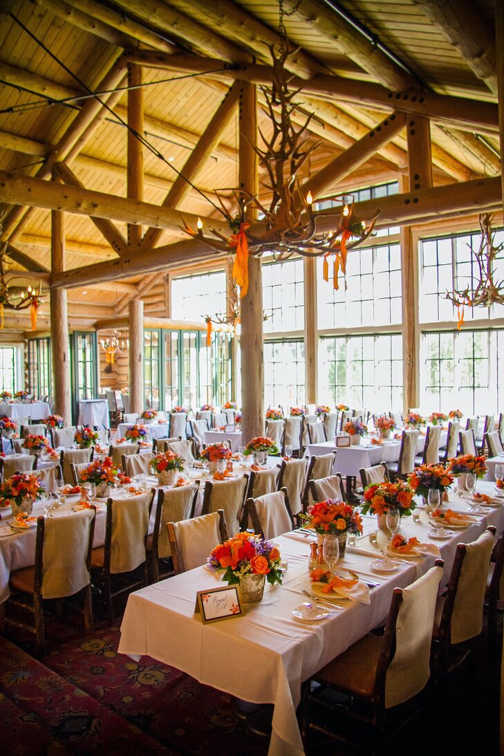 Beano S Cabin Wedding Reception