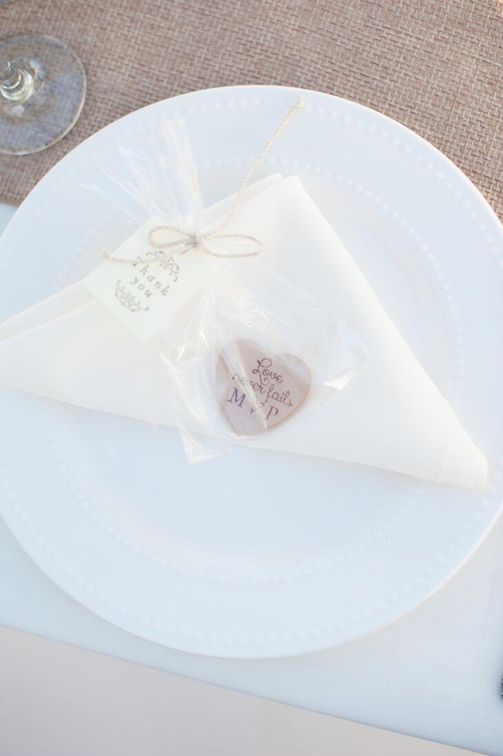 Wooden Magnet Wedding Favors