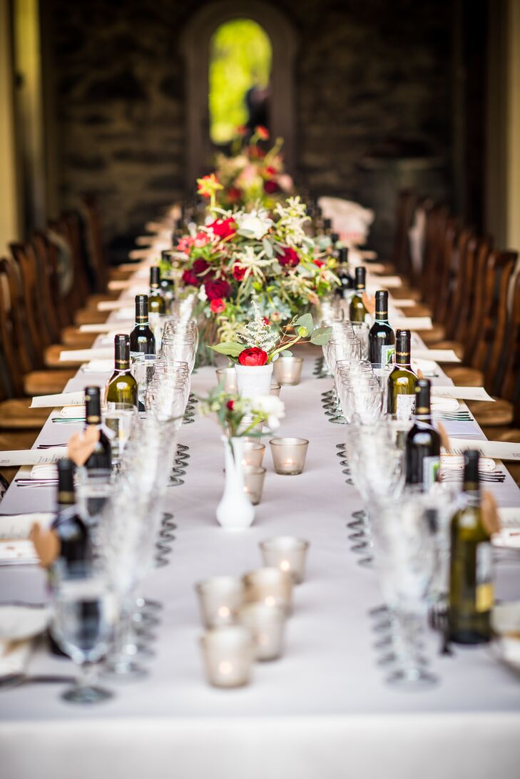 an intimate wedding at grace winery in glen mills