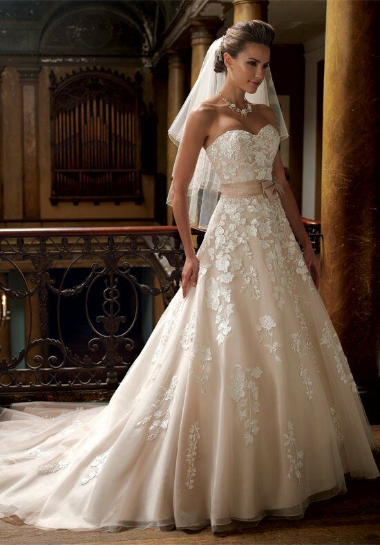 David Tutera for Mon Cheri 213247 Hillary Wedding Dress photo