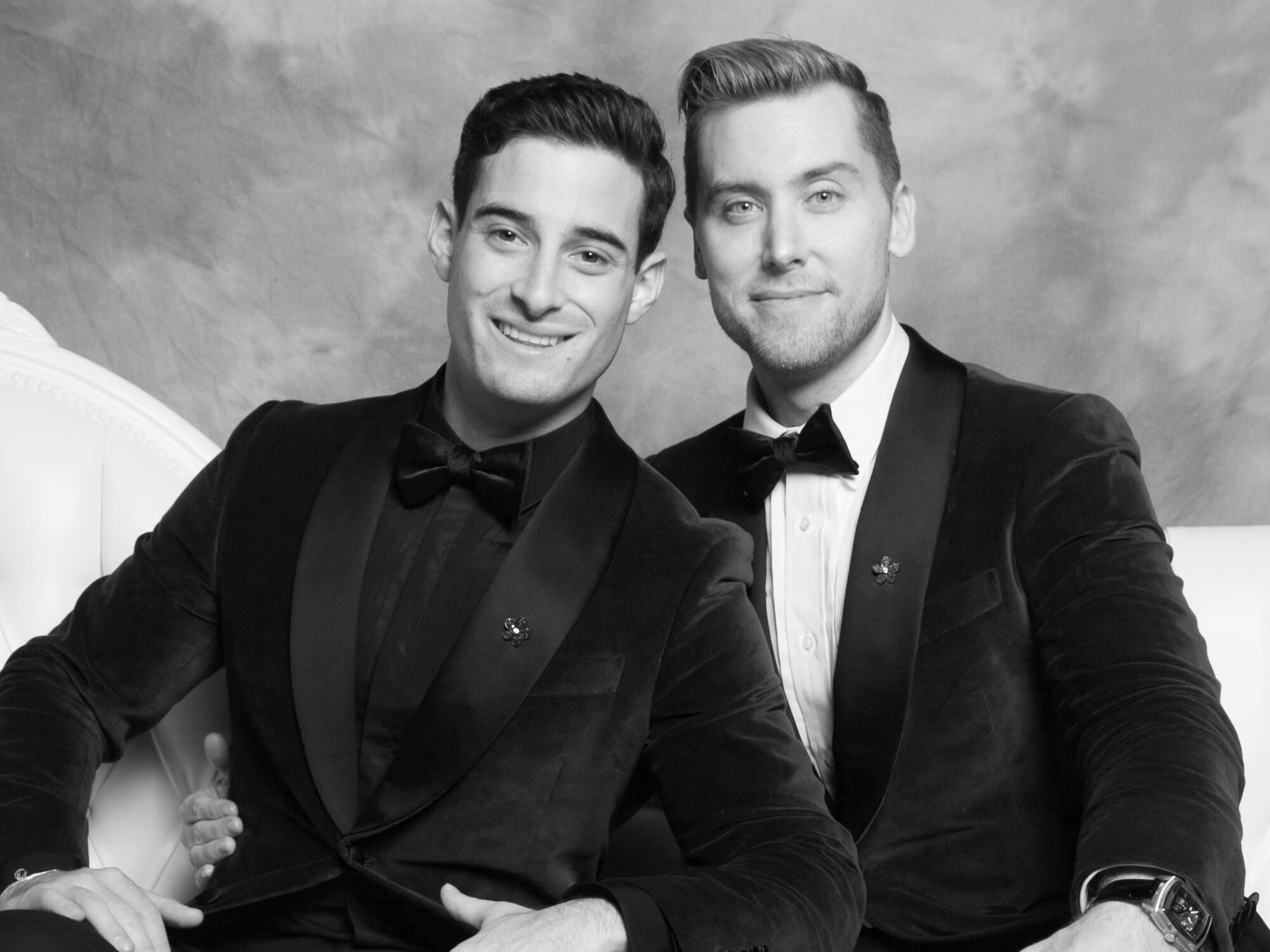 lesbian wedding coloring pages | Did You See These Photos of Lance Bass and Michael Turchin ...