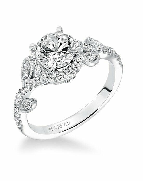 ArtCarved 31-V600ERW-E Engagement Ring photo