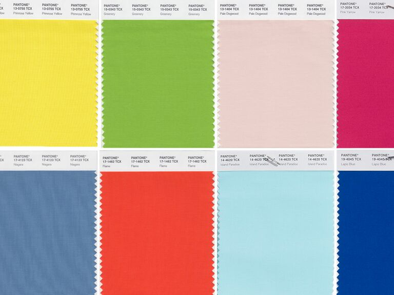 pantone forecasts trending colors for spring 2017 from nyfw