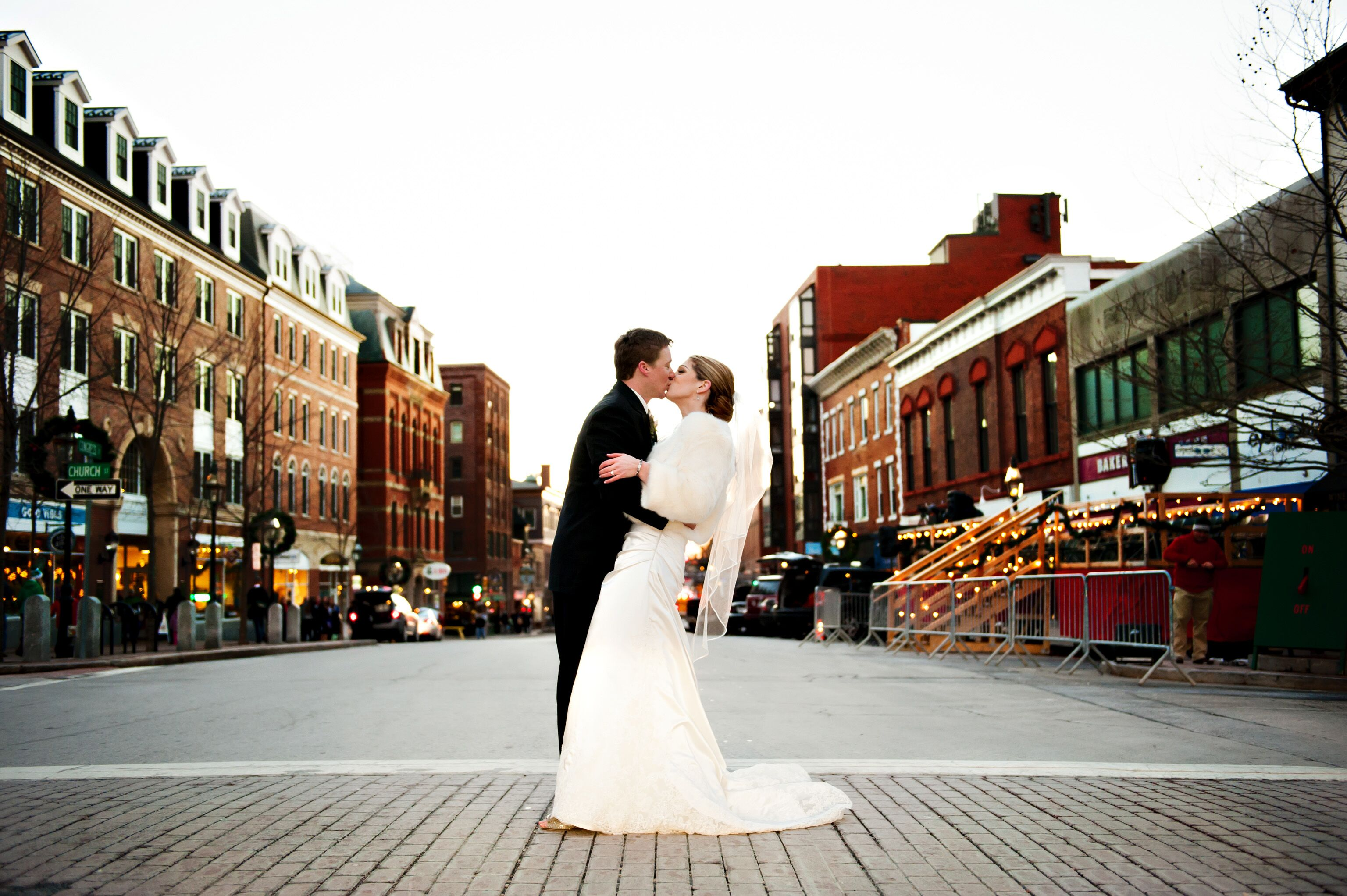 an elegant winter wedding at portsmouth harbor events conference center in portsmouth new hampshire