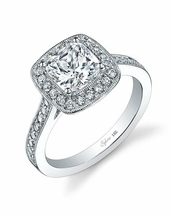 Sylvie Collection SY865 Engagement Ring photo