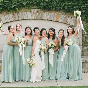 Sage Bridal Dresses