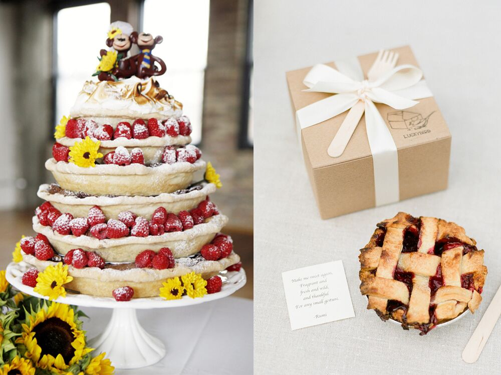 pie wedding cake ideas 7 ways to serve pie at your wedding 18506