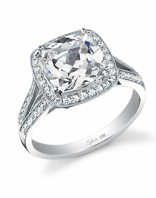 Sylvie Collection SY453 Engagement Ring photo