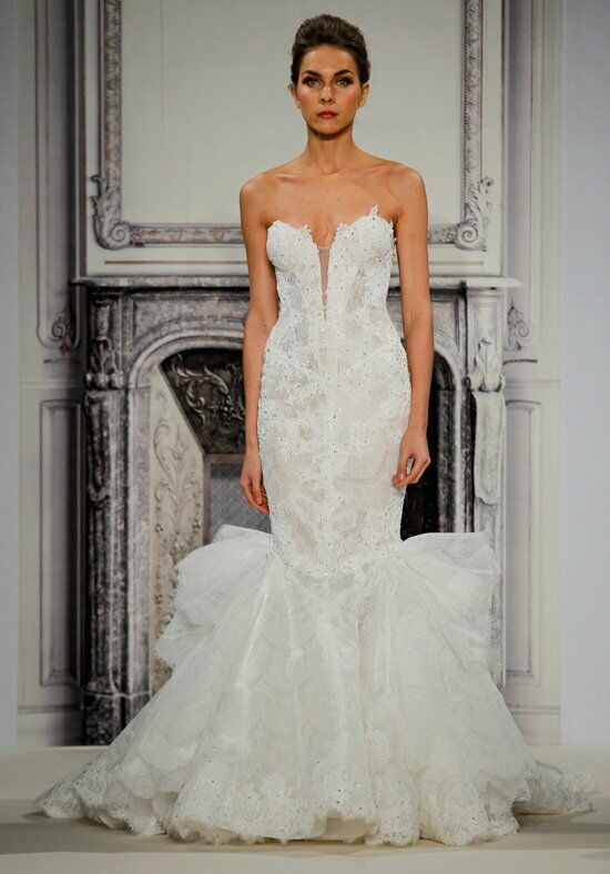 Pnina tornai for kleinfeld 4270 wedding dress the knot for Pnina tornai wedding dresses prices