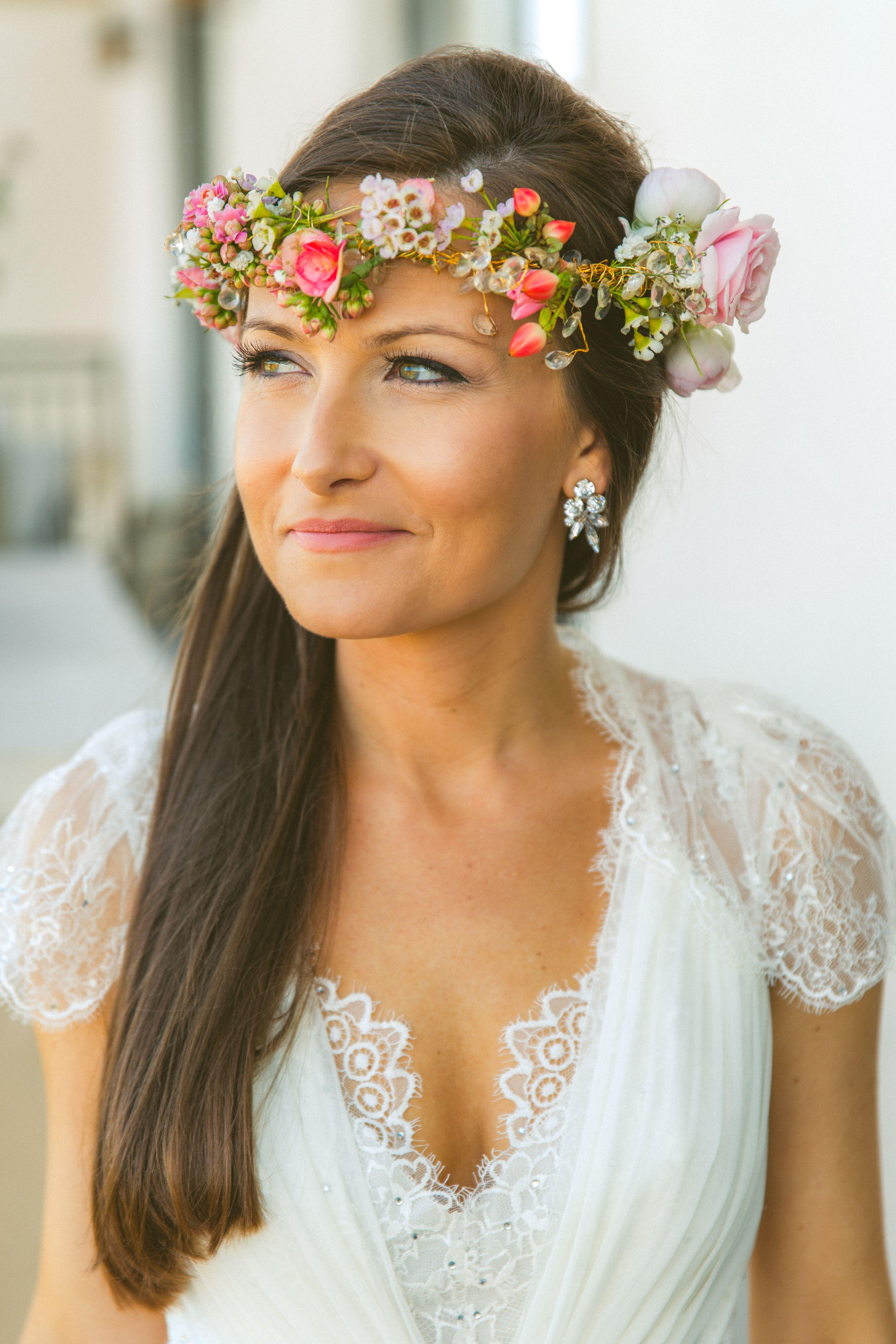 Bohemian Flower Headpiece