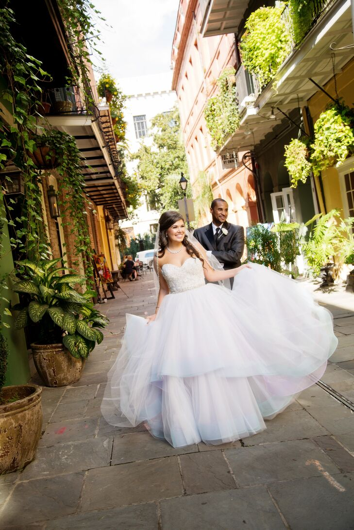 A Whimsical Wedding At The Royal Sonesta New Orleans In Louisiana