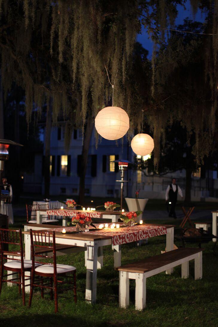 Nautical outdoor reception decor for Anchor decoration runescape