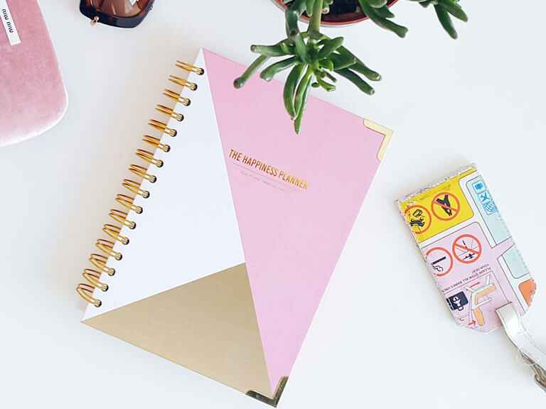 The Happiness Planner book for brides