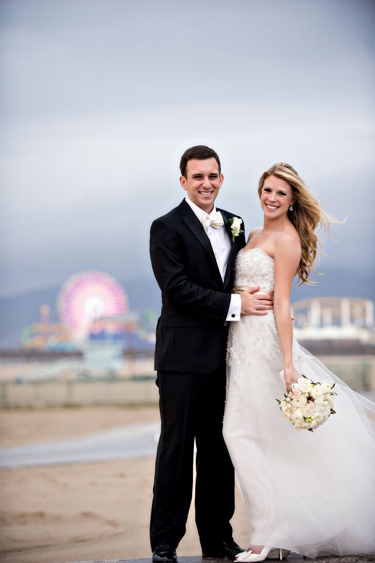 A classic winter wedding at hotel casa del mar in santa for Winter weddings in california