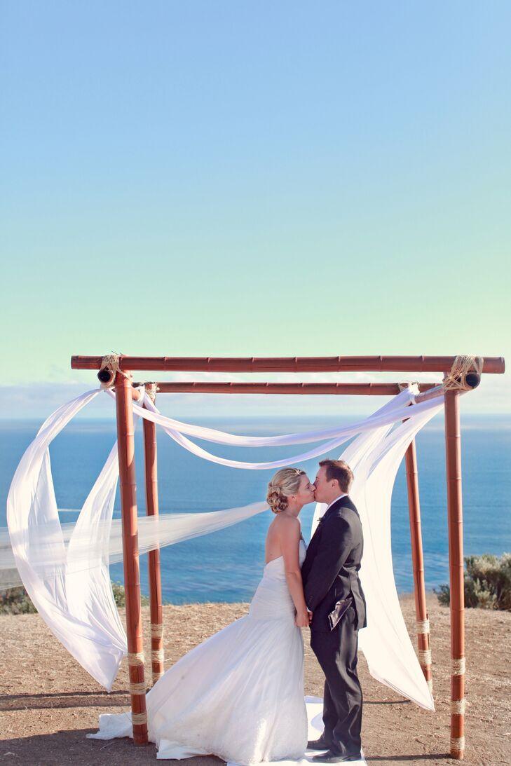A Rustic Waterside Wedding at The Malibu Nature Preserve in Malibu ...