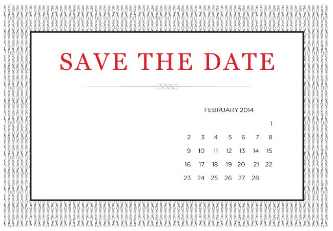 4 Printable DIY SaveTheDate Templates – Free Wedding Save the Date Templates