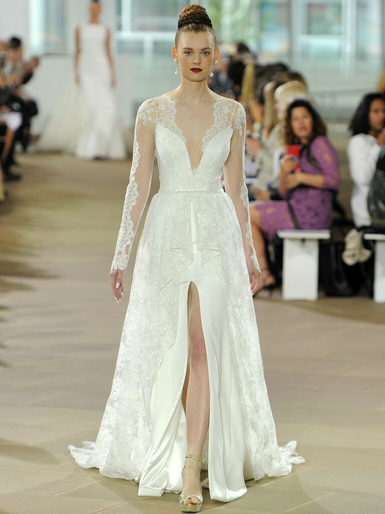Ines Di Santo Spring Collection Bridal Fashion Week Photos