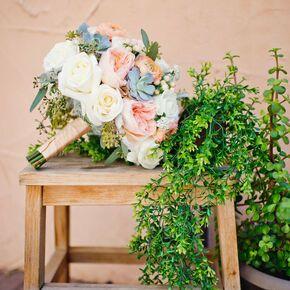 Elegant Bouquet Spanish Inspired Desert Wedding
