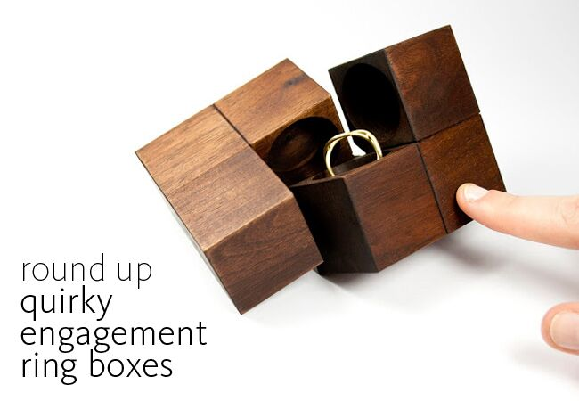 6 Quirky Engagement Ring Boxes