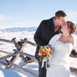An Intimate Winter Wedding in Jackson Hole