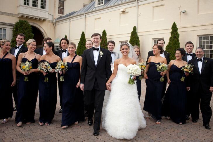 A Traditional, Romantic Wedding In Baltimore, MD