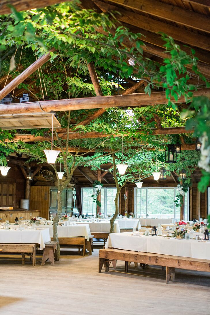 Rustic Tree-House Inspired Reception