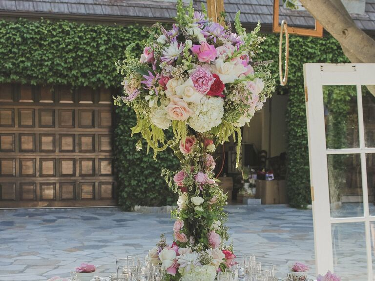 Spring Wedding Reception Table Style
