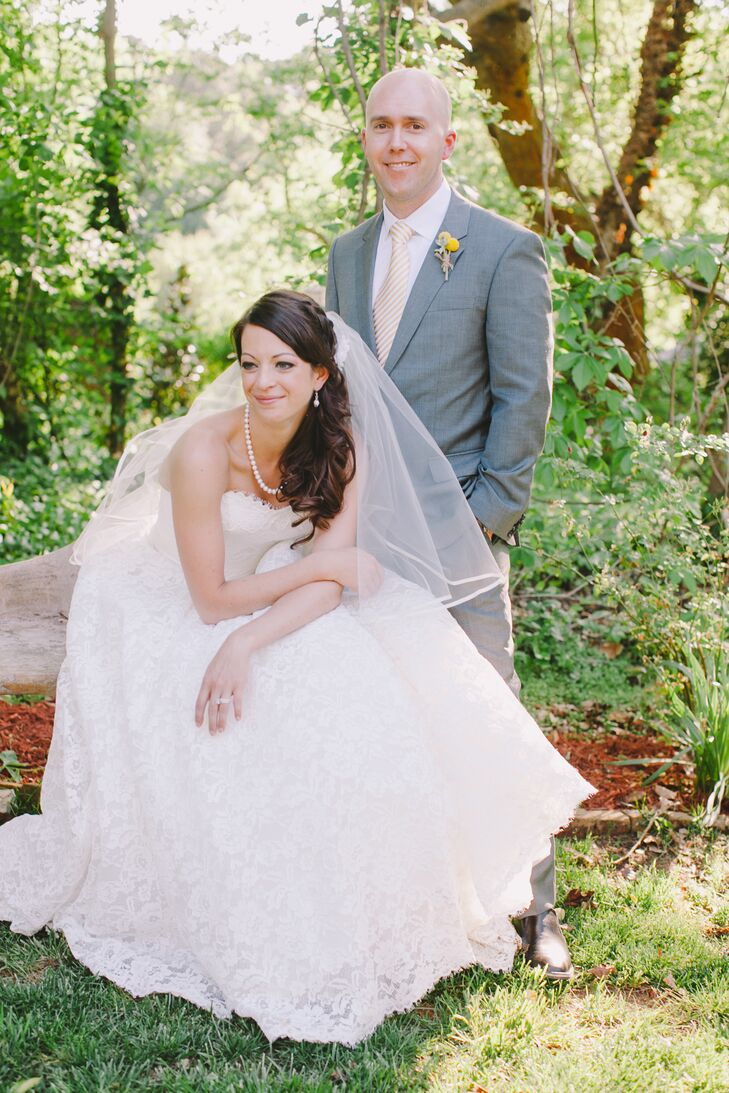 Sarah And David 39 S The Gardens At Great Oaks Wedding